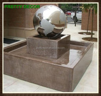 Mirror Finish Fountain Stainless Steel Ball Sphere