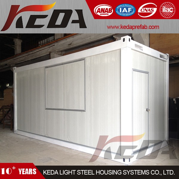 China Good Design 20ft Office Prefab Container House Home