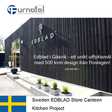 Sweden EDBLAD Store Canteen Kitchen Project By Shinelong