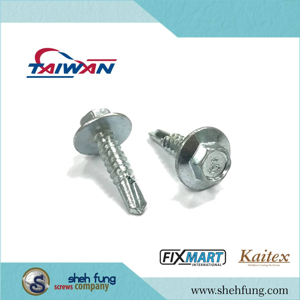 Best Price 6.3x55mm Roofing Self Drilling Flange Hex Washer Screw