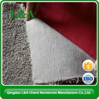 Nonwoven Carpet Backing PET Nonwoven Fabric For Africa Market