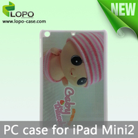 Blank sublimation plastic case for iPad Mini 2