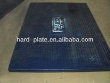 chrome carbide overlaying welding thin metal wear plate for hopper feeding conveyor distributors agents required