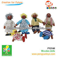 wooden doll pram(Dolls- family)