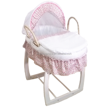 Nursery Baby bassinet Baby Moses basket set ( moses basket/stand/dressings)