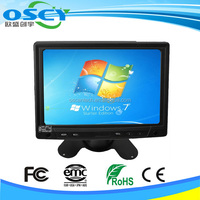 7 inch TFT LCD Color 2 Video Input Car RearView Headrest Monitor DVD VCR Monitor