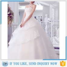 Lastest fashion luxury wedding dress with high quality