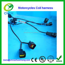 Motorcycles coils adapter wiring harness loom for Honda Suzuki C50 VTX CB VFR XR NC700X CM Touring