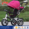 new type trike 4in1 type kids baby children tricycle/ high quality soft baby stroller/ 2016 new model kids trike