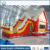 High quality inflatable slide, inflatable bouncer with slide