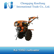 Dryland,primary,garden tillage equipment KJ-135D diesel mini tiller