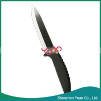 5 Inch Eco-Friendly Black Ceramic Chef Knife with ABS Non-slip Handle