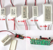 3w 6w 10w 15w 20w 30w 300ma constant current dimmable led driver