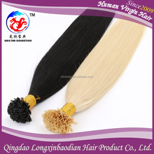 Distributor Wanted Double Drawn Grade 7A Human Hair Extension v Tip, Prebonded Keratin V Tip , Remy Malaysian Hair Extension