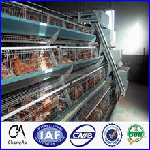 Multi-tiers egg layer chicken cage, galvanized welded chicken cage for sale