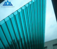 100% virgin bayer material PC building material polycarbonate sunlight roof sheet