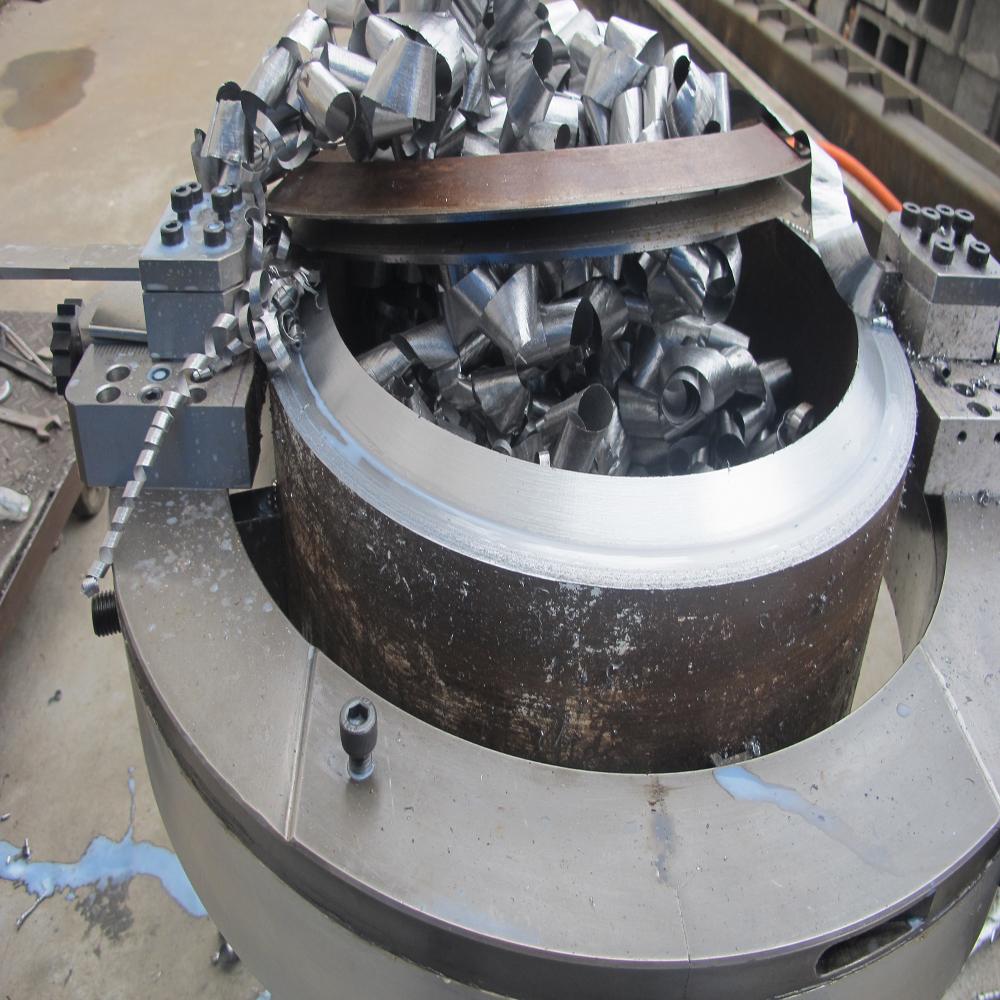 cutting and beveling machine