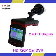 Wide-angle Lens CCTV Camera IR LED Vehicle Camera Car DVR with Day/ Night mode