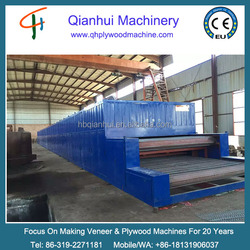 Veneer dryer for core veneer/roller veneer dryer