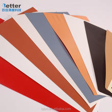 Decorative Salmon Transparent Color PVC Film