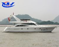 63ft luxury super small fiberglass speed yacht / boat for sale