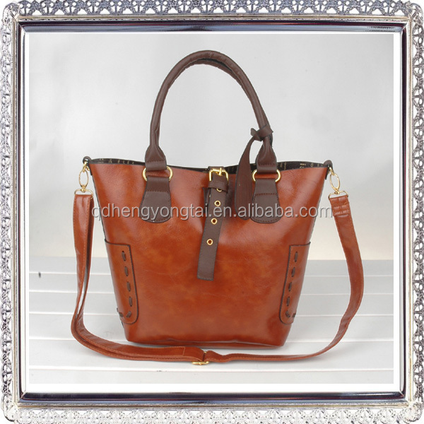 PU leather shoulder handbag wholesale from China Alibaba South Korea leather handbag ladies bag