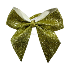 Wholesale Holiday Packing Use and wine bottle packing Glitter Ribbon Bows