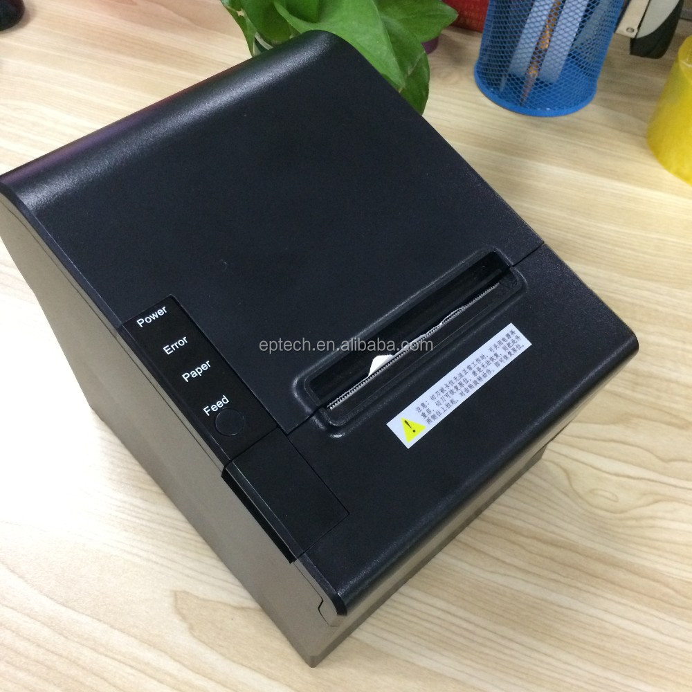 E80 Hot Sale POS 80mm Mini Thermal printer with autocutter / easy paper loading design