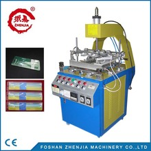 Blister three side folding small commodity packaging fully automatic PVC blister machine for CE with ZHENJIA factory .