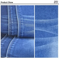 Accept OEM service wholesale 98% cotton 2% spandex denim fabric
