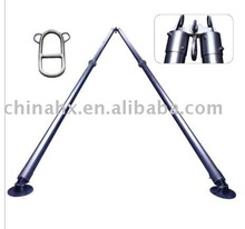 Aluminum alloy A-shape Tubular Gin Pole