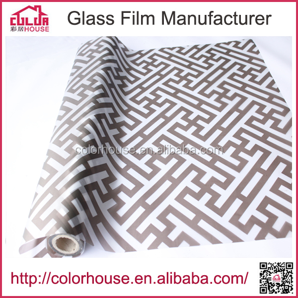 adhesive pvc window glass decorative film furniture protective film