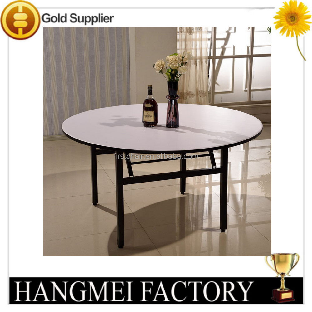 Hotel round pvc folding table for banquet buy round for Table 6 kemble inn