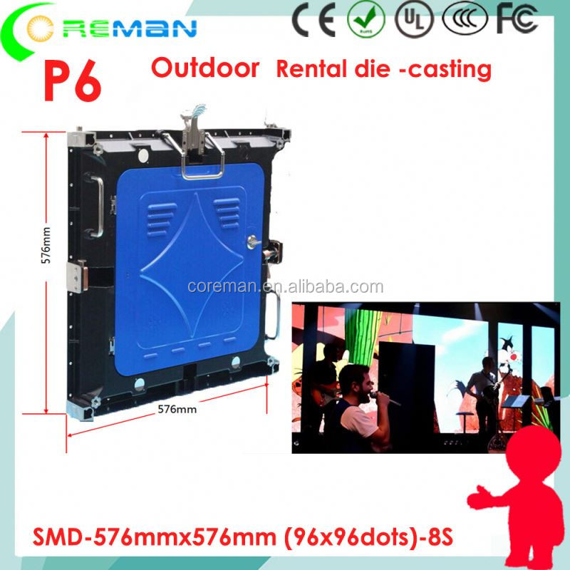 adult xxx movies p4 outdoor rental led display , led pixel module p6 cabinet 576x576mm , diy led sign board kit p6 p5