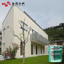 Acrylic building lacquer for exterior wall coating paint top coat