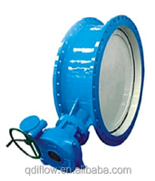 Cast Iron Double Flanged Double Eccentric Butterfly Valve PN10/PN16/PN25