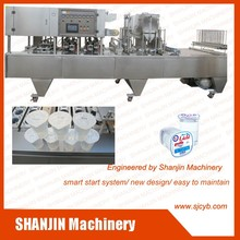 Automatic Cup Filling and Sealing Machine | Jelly Cup Filling Machine | Juice Cup Filling Machine