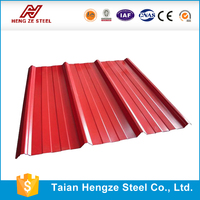 galvanized CR steel sheet profile / zinc and color coated roofing sheet