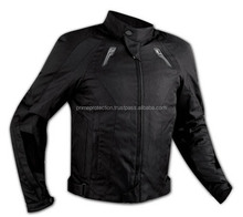 Waterproof Motorcycle Jacket Black color new design 2015
