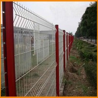 Free samples hot sales alibaba china premium strong welded pvc safety mesh fence