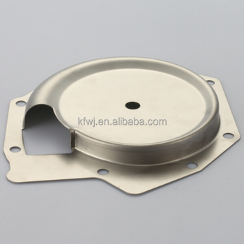 OEM stamped cover for water pump,metal deep drawing parts stainless steel