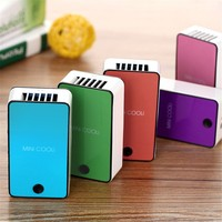 promotional gift portable usb mini desert air cooler fan,water air cooler,room air cooling fan