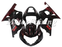 Red Flame bodywork kit For SUZUKI GSXR600 750 fairings K1 2000 2001 2002 2003 GSXR600 GSXR750 00 01 02 03 fairing kits