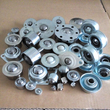 auto cam roller cf12 CY-22H cylinder ball casters/CY-25A galvanized flange ball transfer unit/harden steel conveyor skate wheel