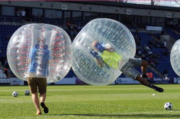 Bubble Football / bubble soccer / loopy ball