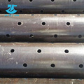 Black Painting API Spec 5CT Perforated Casing Steel Pipe