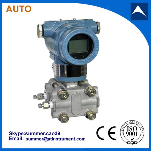 Capacitive silicon oil-filled HART protocol differential pressure transmitter with reasonable price