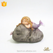 New Products Miniature Return Gifts Party Souvenir Fat Lady Resin Mermaid Figurines Wholesale