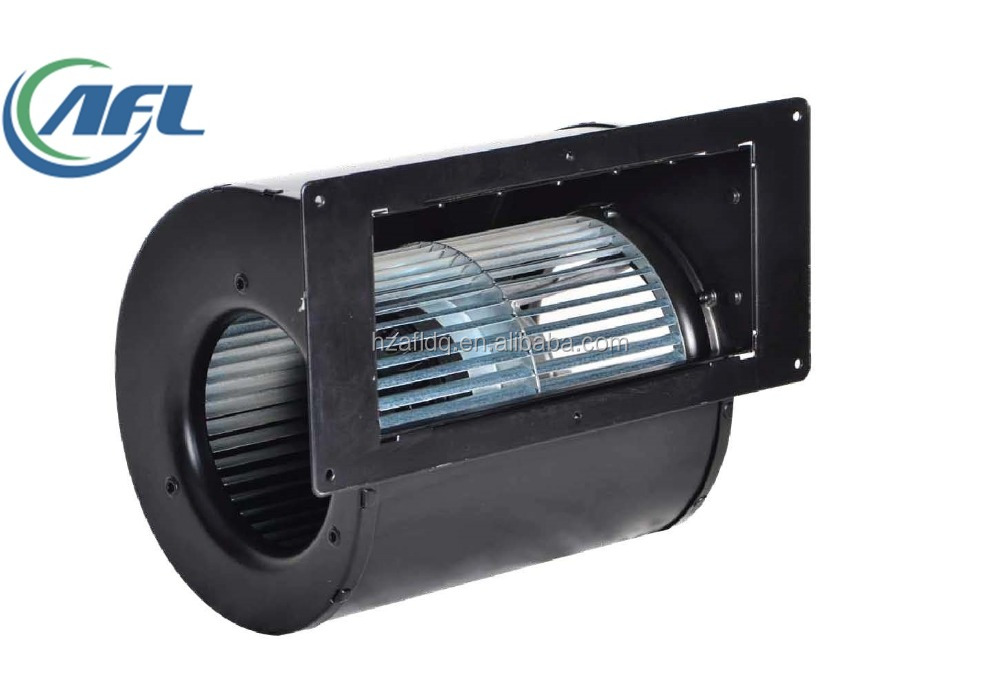 133mm EC Dual inlet forward centrifugal fan with housing