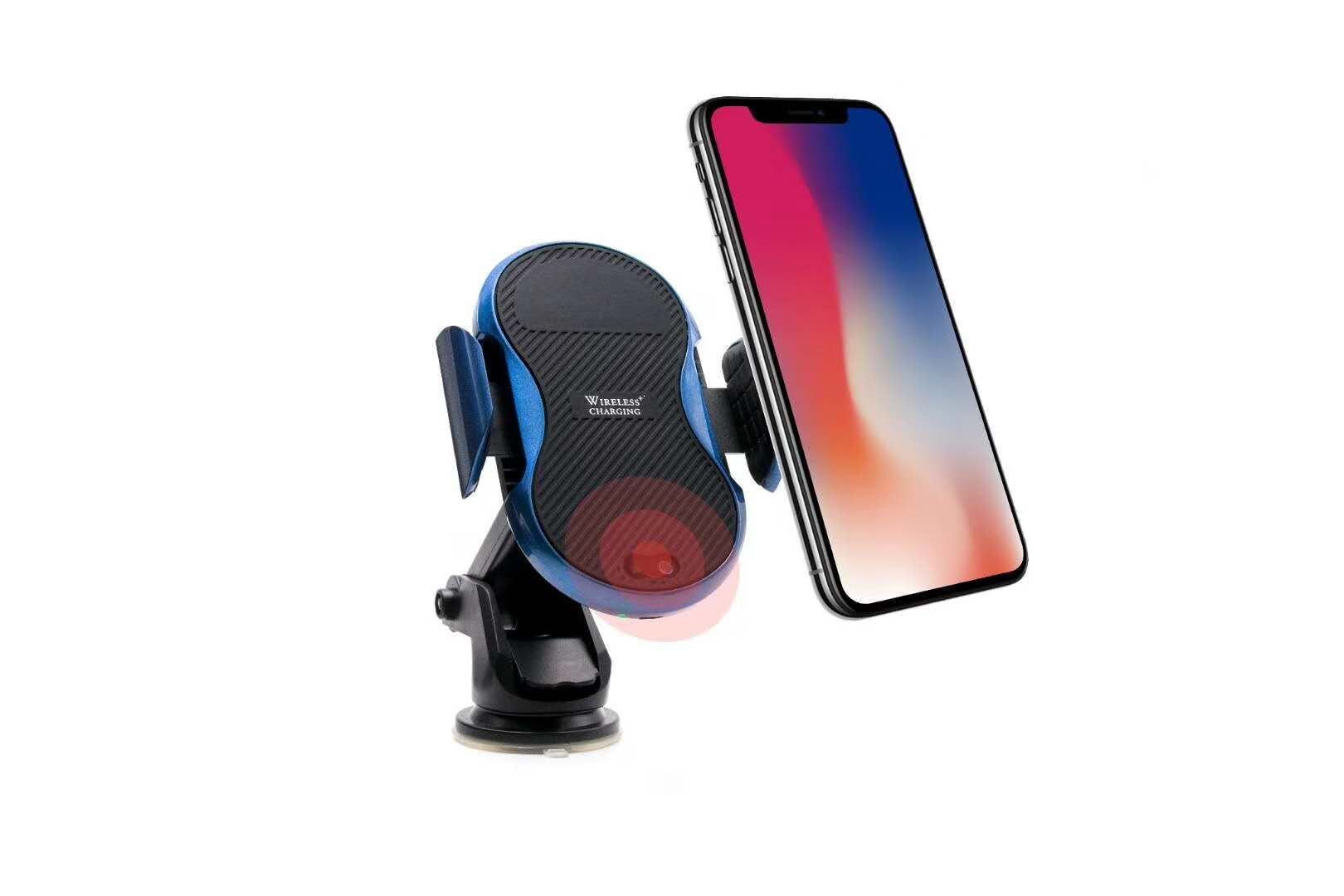 New mold Wireless Car Charger Mount with induction sensor with air vent for iphone 8 X